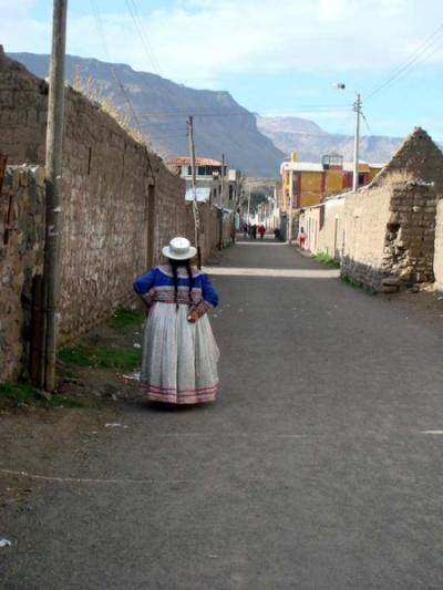 улочки Чивая: крестьянка