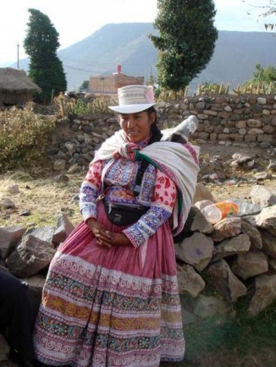 эта достойная перуанская леди отказалась брать деньги за снимок