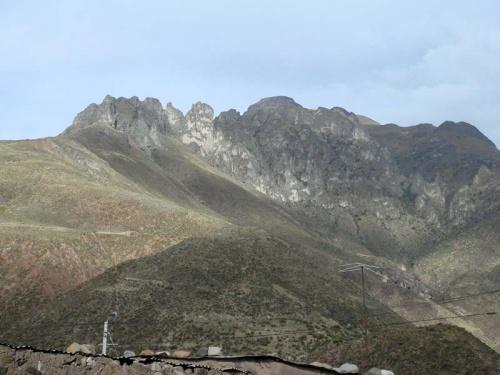 по пути в каньон Колка