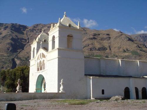высокогорная церквушка