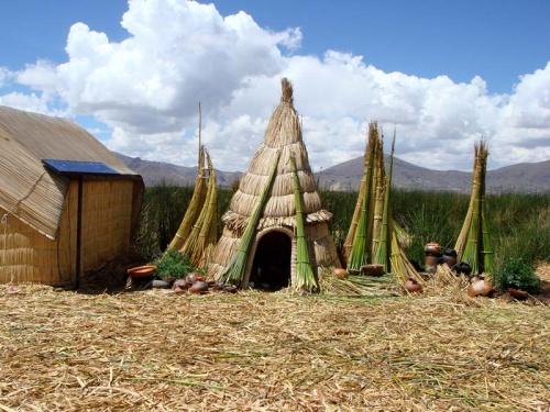 индейские жилища: имитация для туристов