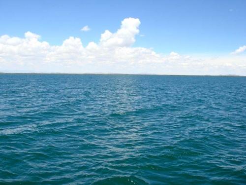 впереди - открытая вода...