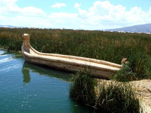 тростниковая лодка