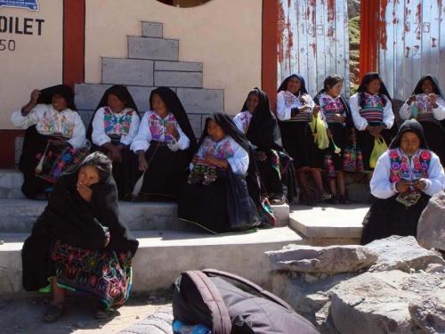 нас ждут индейские женщины, в домах которых мы будем ночевать