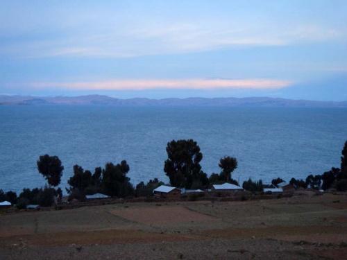 закат на Титикаке