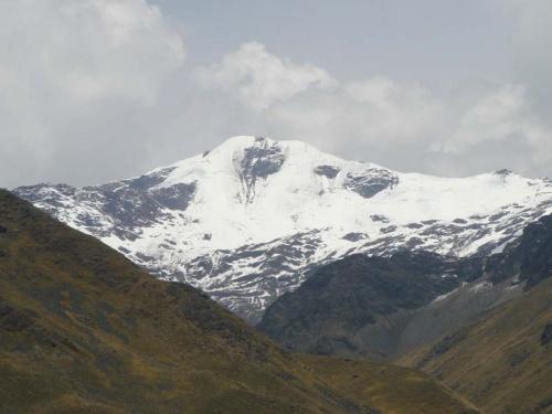высокогорный перевал Ла райя