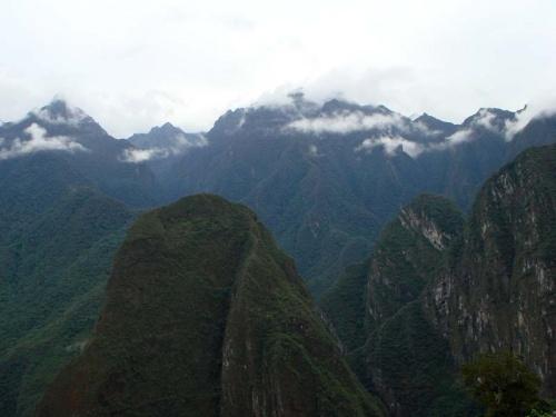 красивый вид с Мачу Пикчу