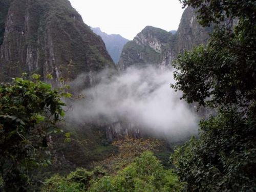 утро в священных горах инков