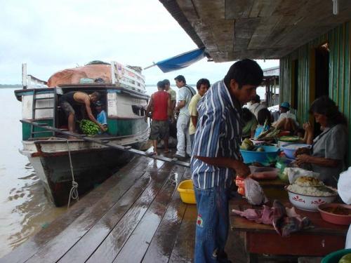 путешествие по Амазонке: привал