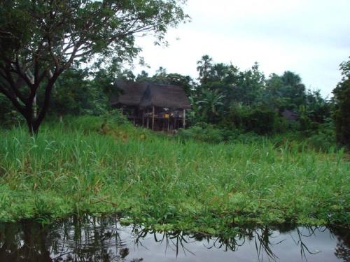 еще одна амазонская деревня