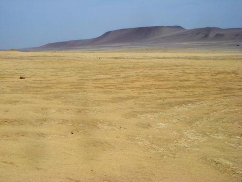 Паракас: пустыня