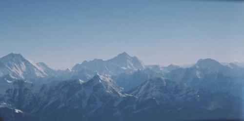 На подлёте к Эвересту