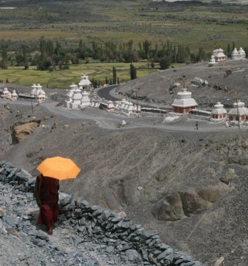 долина Нубра, монастырь  Diskit