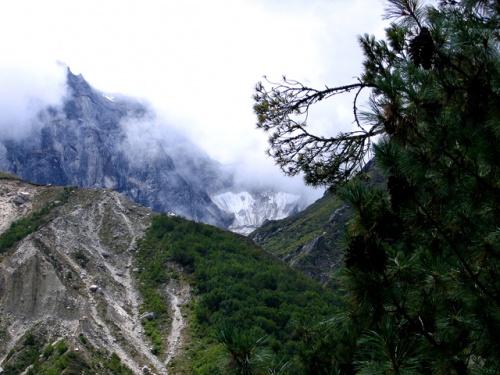 Пейзаж перед Гомукхом
