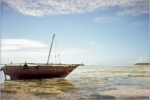 Индийский океан, отлив, Занзибар
