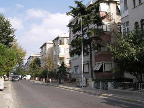 улица на азиат. стороне Стамбула