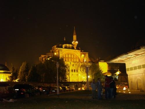 та же мечеть вечером