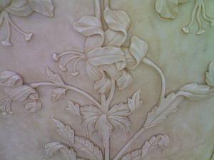 Форт Амбер,цветы из мрамора
