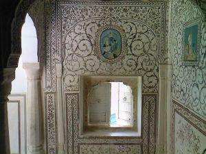 роспись стен,фрагмент