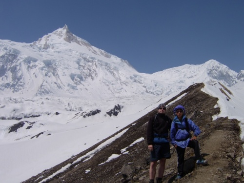 К Manaslu base camp