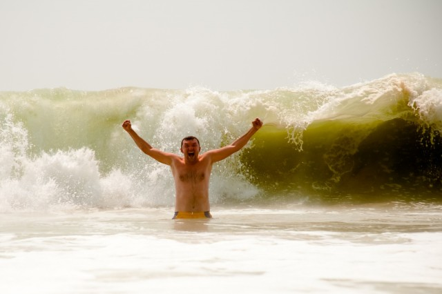 Волны в Варкале