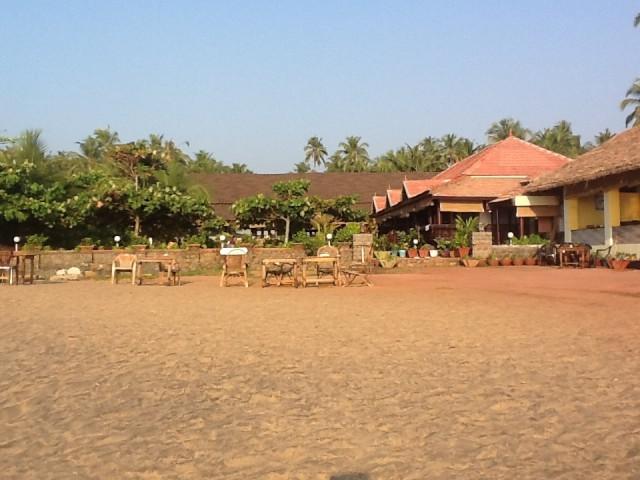 Пологий пляж за мечетью о отеля Palm tree