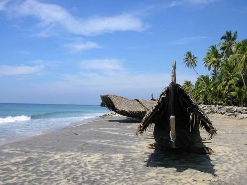 Мой любимый черный пляж