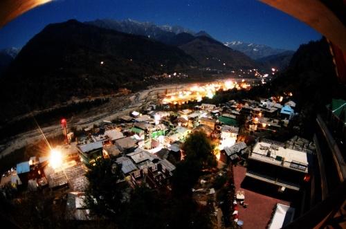 night in vashisht
