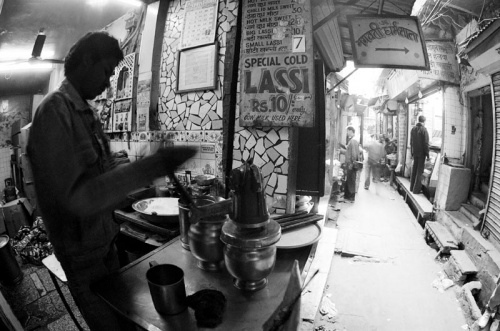 delhi main bazaar lassi-man