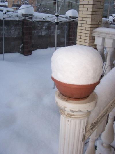 Еще снега