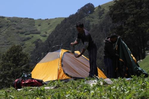жить в индии в палатке можно