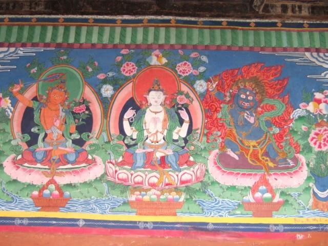 Тибетское граффити