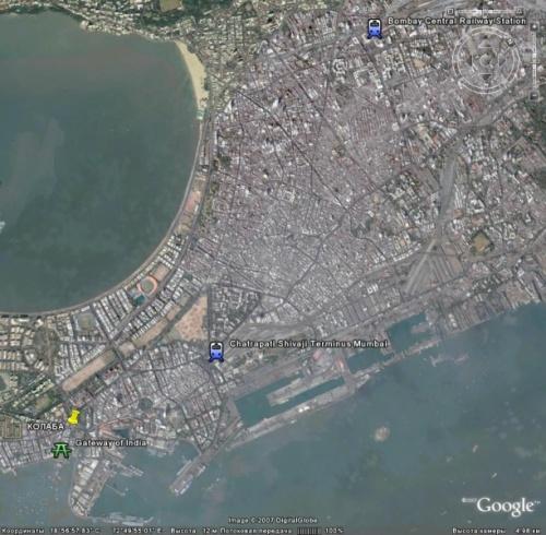 Вокзалы в Мумбае