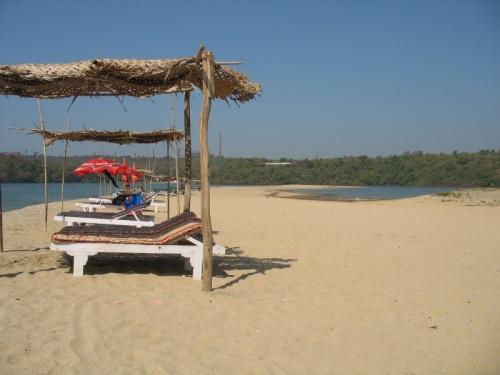 последний пляж на севере ГОА