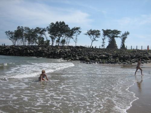 Пляж возле Шор-темпл