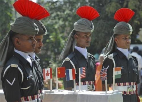 Воинские почести погибшим в WWII