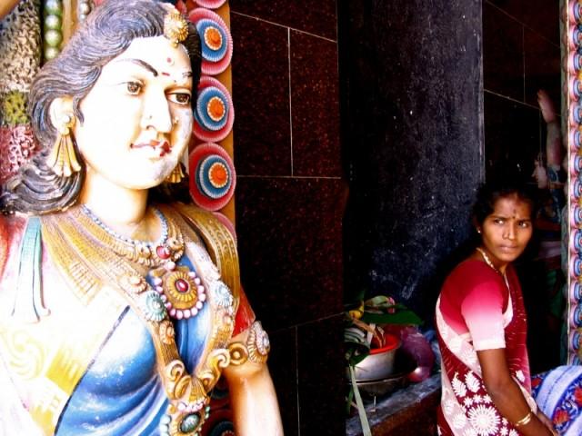 у храма была грандиозная церемония