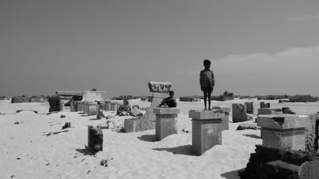 Рамешварам. Руины города на песчаной косе.