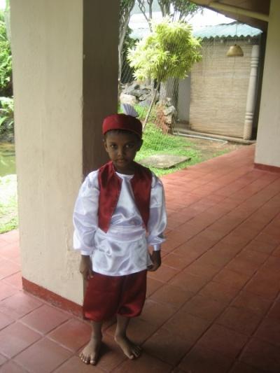 ланкийский мальчик