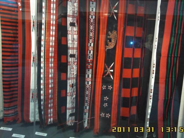 шерстяные шали различных племен