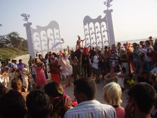 парад фриков в Арамболе