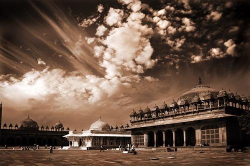 Дворец в Фатехпур Сикри