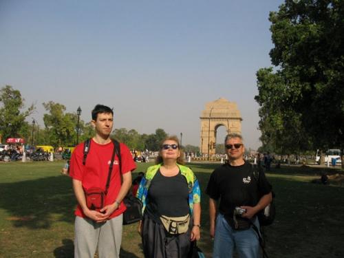 Ворота Индии и колобки