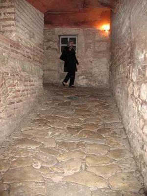 спиральный подъем на верхний ярус мечети