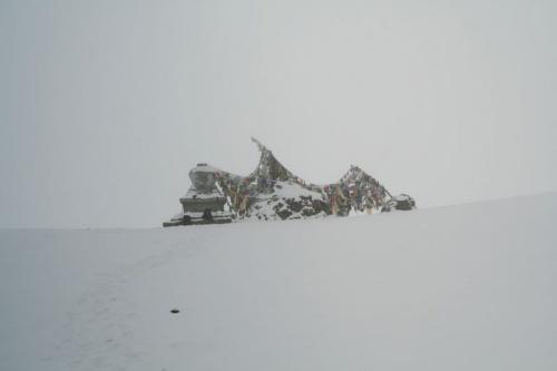 вид с перевала Синге-Ла:((