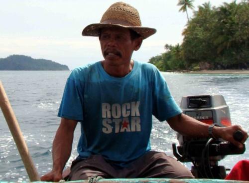 Рок звезда из западной Суматры