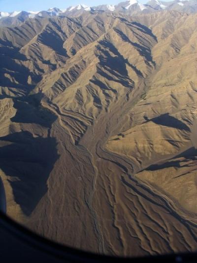 Из самолета в Leh