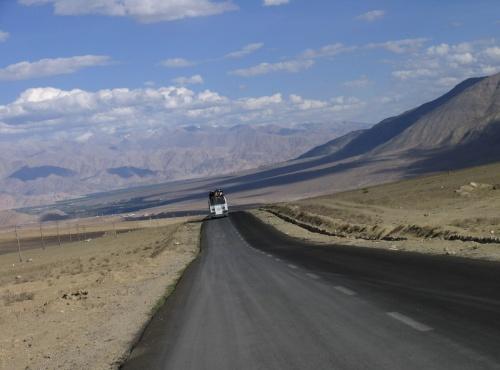 по дороге из Ламаюру в Ле