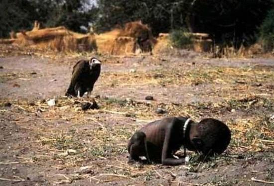 знаменитое фото,Судан