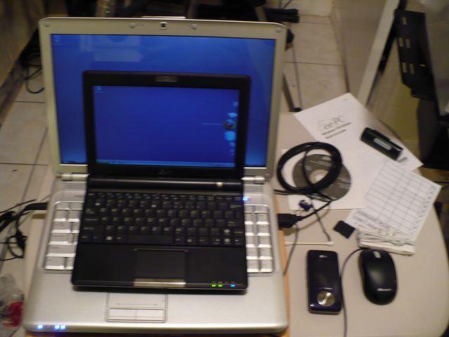 и в сравнении с 14 дюймовым ноутбуком Dell